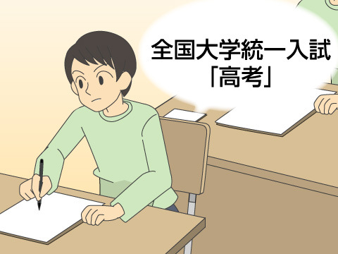 中国版センター試験、全国大学統一入試