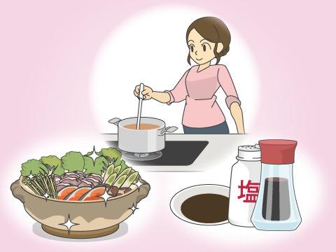 野菜の煮物のコツ