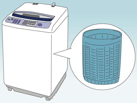 洗濯機パン・洗濯槽