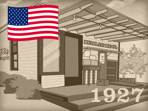 アメリカでコンビニ誕生