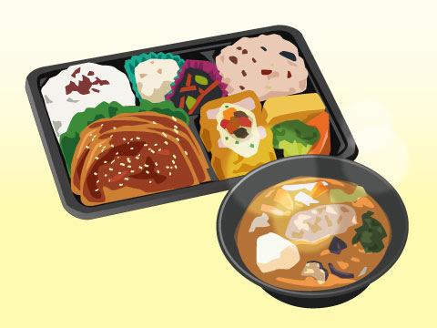 健康な食生活をサポートする商品群