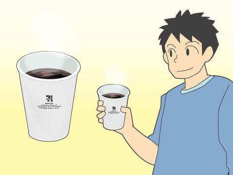 セブン-イレブンのカウンターコーヒー