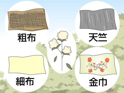 綿織物の種類
