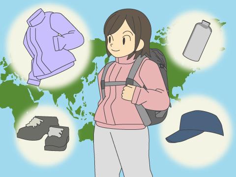 アウトドアファッションの主要アイテム