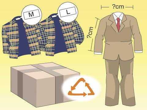 洋服を選ぶ際に気をつけること