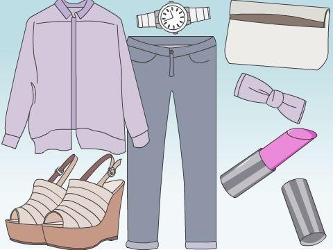 女性のための着やせ効果術