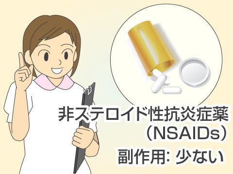 非ステロイド性抗炎症薬(NSAIDs)