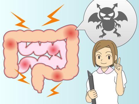 細菌やウイルスによる一過性のもの