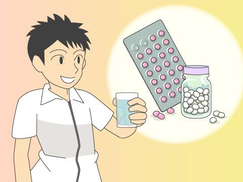 薬の正しい飲み方