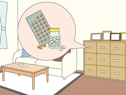医薬品の保管場所・方法