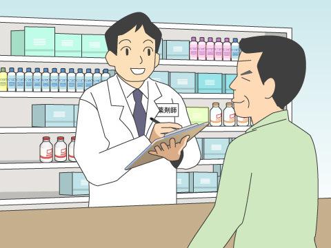 ドラッグストアで購入できる市販薬の選び方