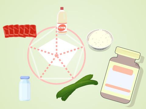 食事バランスを整えるサプリメント