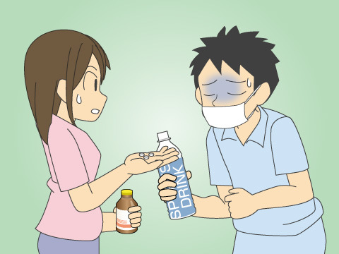 細菌・ウイルスが原因の場合