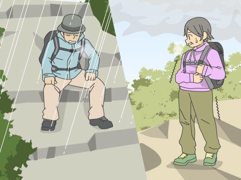 山岳遭難の原因