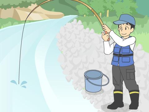 釣りの場合の持ち物リスト