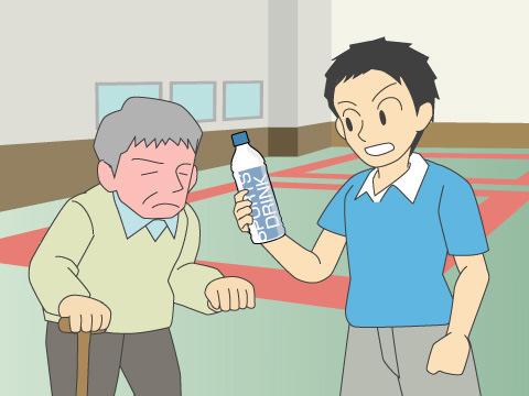 屋内スポーツも熱中症対策が必要