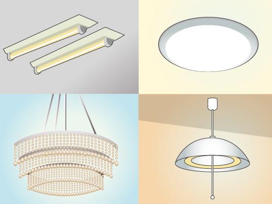 照明器具の種類と地震対策