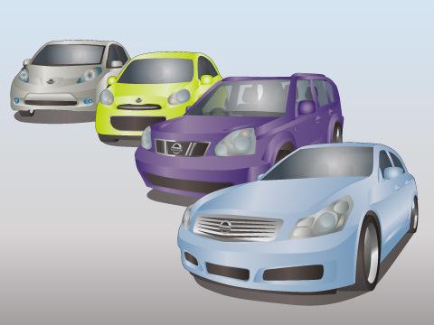 日産の代表的な車種