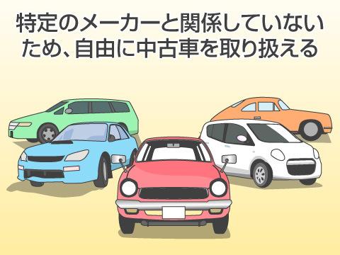 中古車専門販売店で自動車を購入するメリット