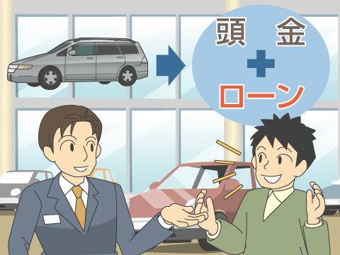 ローンを用いた自動車の購入方法