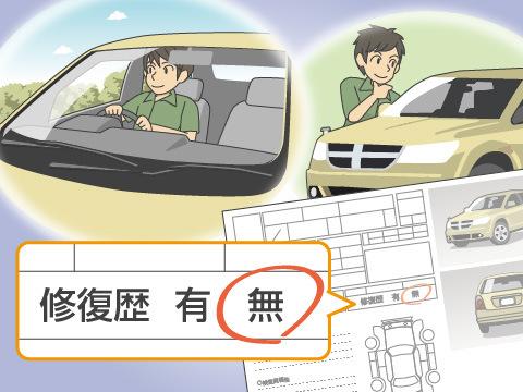 中古車を購入する際に注意したいボディのポイント