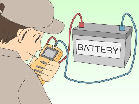 バッテリー点検