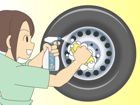 洗剤を使って洗浄