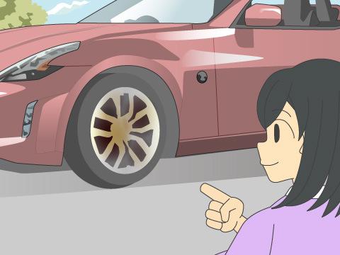 ブレーキの種類によってホイールが汚れやすい?