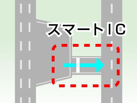 高速道路の出口が増える