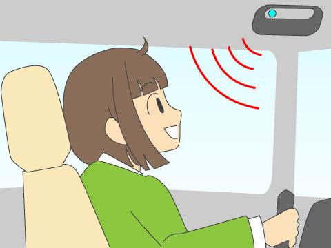 ハンズフリー通話装置