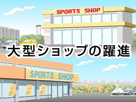 スポーツショップの現状と今後