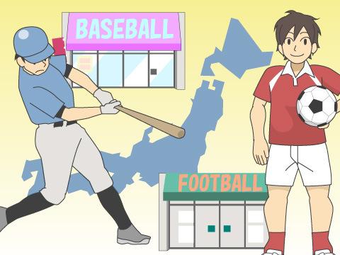 現在のスポーツショップの形態