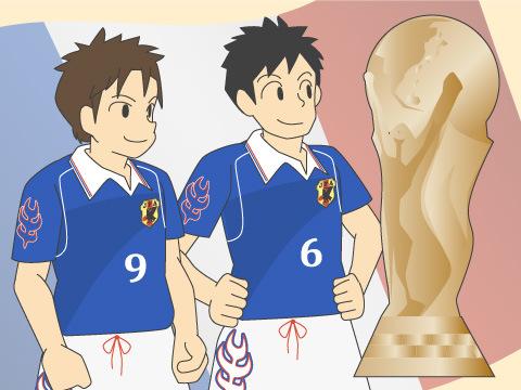 ワールドカップ出場にともなう日本代表の人気