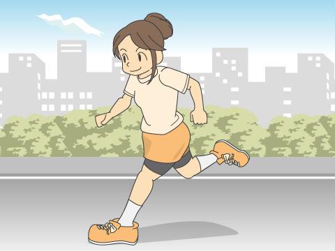 女性ランナーの増加