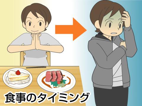 食事を摂るタイミング