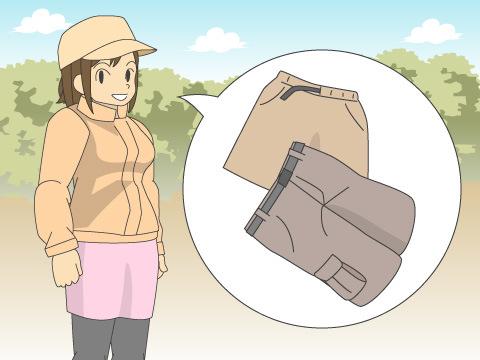 ショートパンツ・スカートタイプ