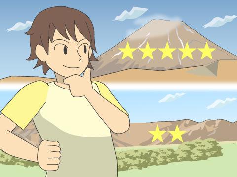 山を決める(登山コースを決める)