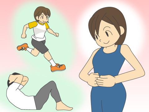 腹筋運動でお腹がへこむは間違い!?
