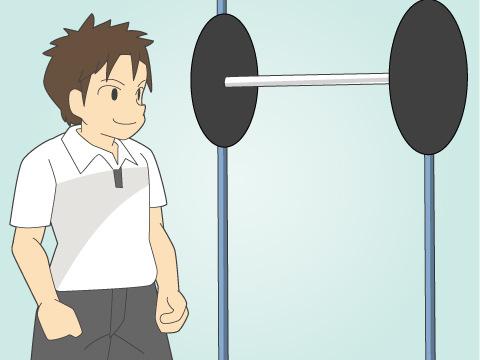 ウエイトトレーニングの三大基本メニュー