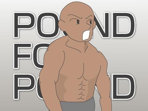 最強の格闘家を示すパウンドフォーパウンド