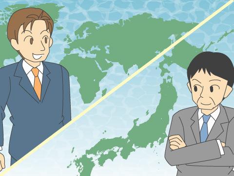 株式の発行企業がある国による分類