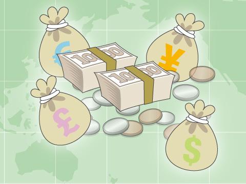 取り扱い通貨の種類