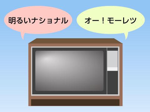 テレビによってアメリカナイズドされていく日本