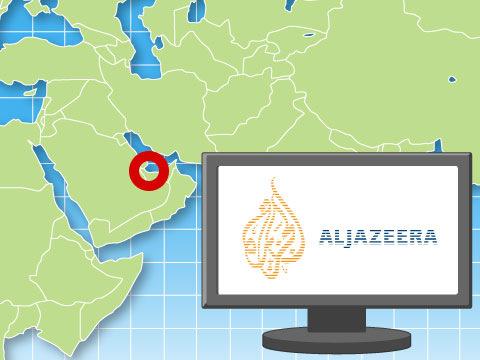 中東のCNNとの異名を持つアルジャジーラ