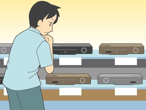 映像方式 - NTSC方式とPAL方式