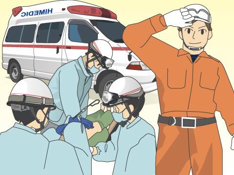 消防活動の第一線活躍
