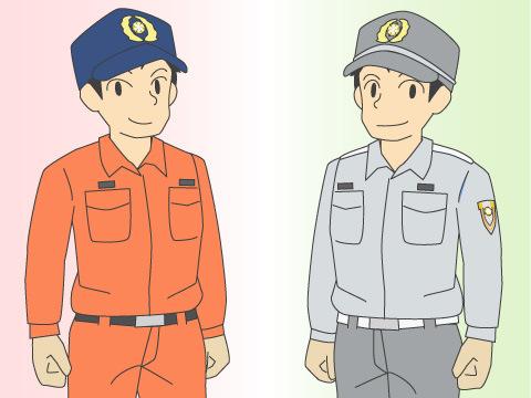 活動服はそれぞれの分野でのスペシャリストの証