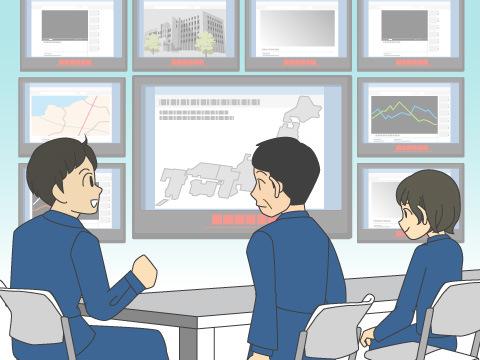 国土交通省の防災センターは大規模災害時の防災拠点