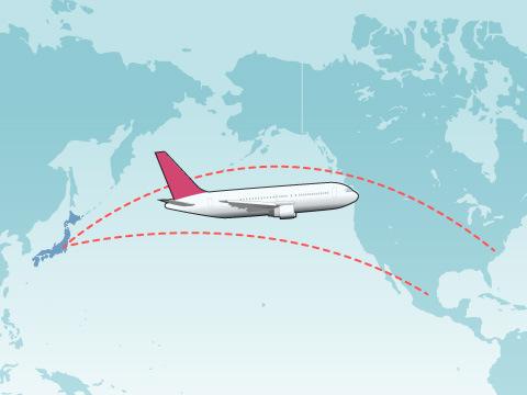 航続距離に応じた空港の役割