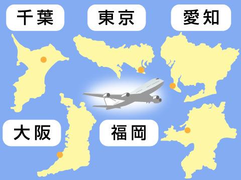 日本の玄関口を守る5つの空港警察